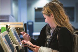 Carrefour test betalen met vinger in België