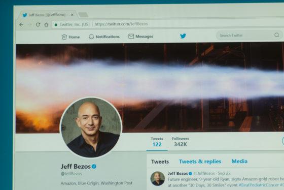Oprichter Amazon rijkste man ter wereld