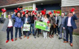 Plus-supers doneren aan Daniel den Hoed