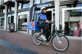 Scooters in 2020 weg bij Domino's