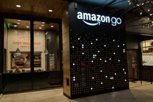 Eerste Europese Amazon Go in Londen