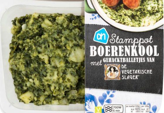 AH lanceert maaltijden Vegetarische Slager