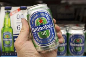 Alcoholvrij bezorgt Heineken stevige groei