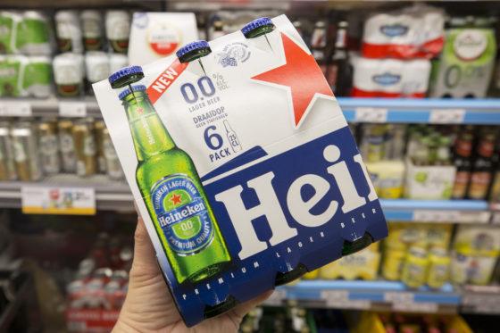 Heineken 0.0 beste supermarktintroductie 2017