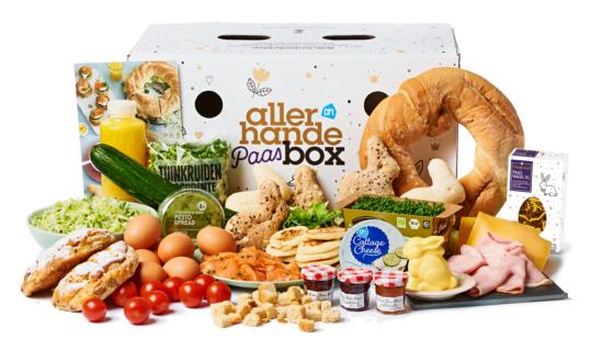 Albert Heijn introduceert Allerhande Paasbox