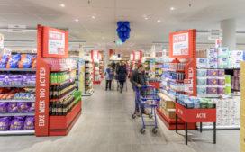 Supermarkten stuwen detailhandelsomzet