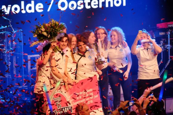 Albert Heijn Oosterhof uit Paterswolde werd 3e.
