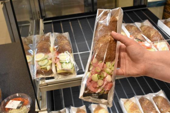 De World of Food heeft ook belegde broodjes in het assortiment