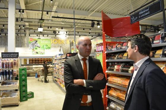 Dekamarkt-directeur Pieter Rozendaal betitelt de World of Food in Zeewolde als een winkel van de toekomst.