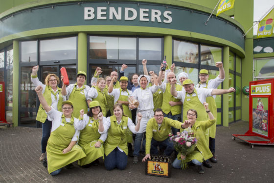 Het team van Plus Benders, voor de zesde keer finalist. Foto: Koos Groenewold