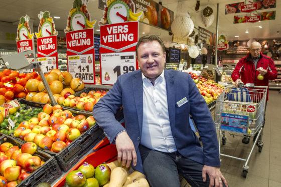 Plus-ondernemer René Alfring uit Hardenberg. Foto: Ronald Hissink.