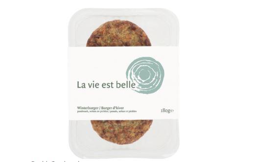 Recall vegetarische hamburger van La vie est belle