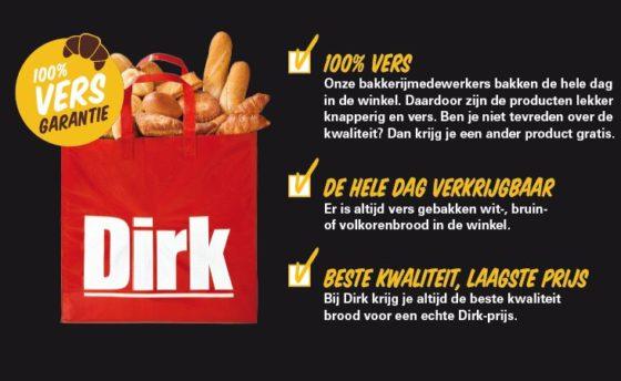 Dirk lanceert nieuwe versgarantie