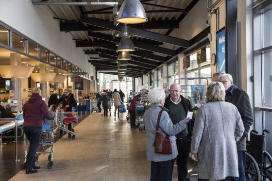 Eelde/Paterswolde  19-01-2018    opdr.nr.: 4143 DIS201804 Albert Heijn Patersolde van familie Oosterhof foto:Jan Willem van Vliet