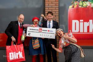 Dirk haalt € 48.000 op voor CliniClowns