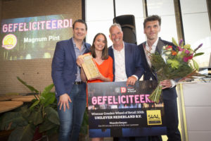 Magnum Pint wint Gouden Wheel