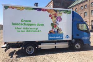 Albert Heijn zet nieuwe e-trucks in