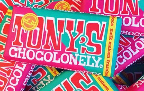 Borstelharen in repen Tony's Chocolonely