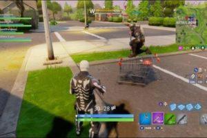 Winkelwagen verwacht in Fortnite-game