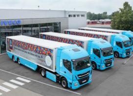 Aldi test vrachtwagens op aardgas