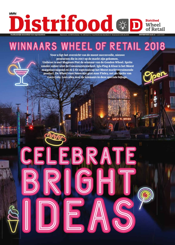 Distrifood nummer 22 2018 Winnaars Wheel of Retail