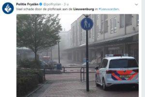 Ravage bij Leeuwardense AH na plofkraak