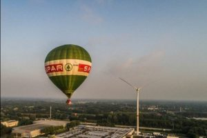 Spar laat landingslocatie luchtballon raden