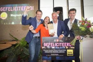 Winnaar Gouden Wheel en categorie ijs: Magnum Pint