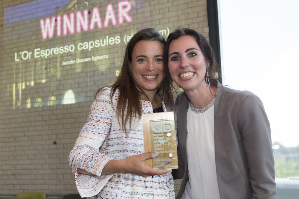 Winnaar categorie Warme dranken: L'Or espresso in aluminium capsules