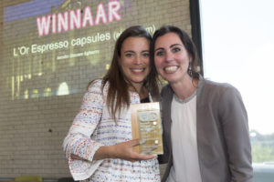 Winnaar categorie Warme dranken: L'Or espresso in aluminium capsules