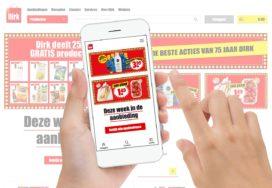 Dirk lanceert nieuwe website en app