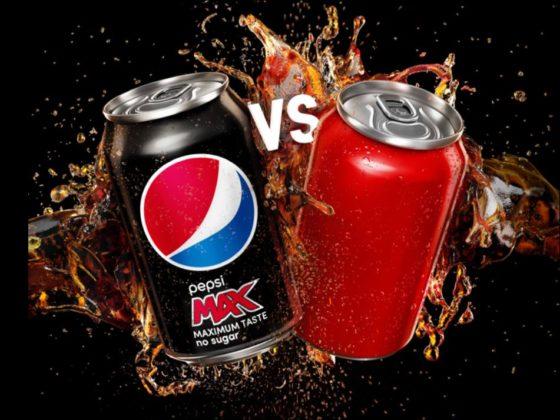 Pepsi daagt Coca-Cola uit in suikersmaaktest