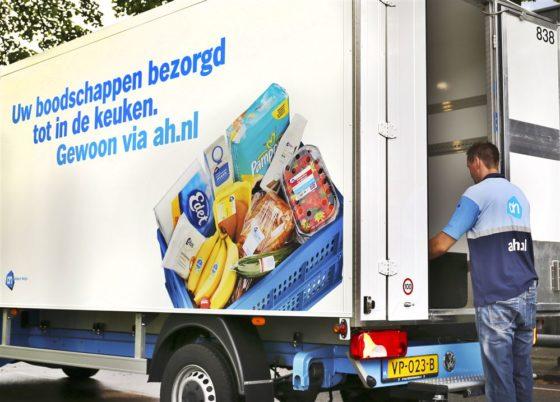 Nederland koploper online levensmiddelen