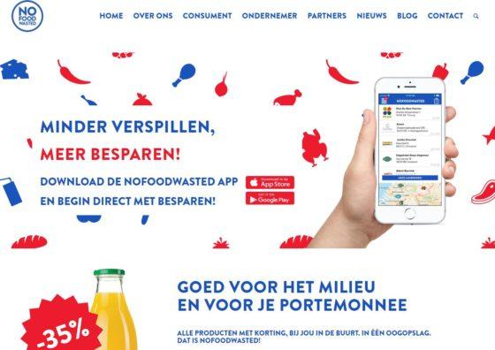 App NoFoodWasted nu ook voor restaurants