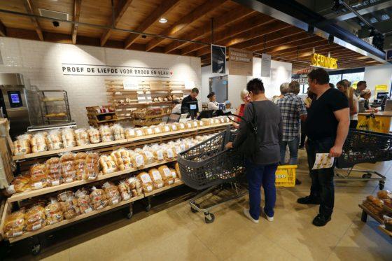 Het marktaandeel in brood ligt bij Jumbo Heerschap hoger dan gemiddeld bij Jumbo. Foto: Bert Jansen