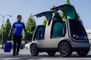 Kroger test bezorgen met zelfrijdende auto