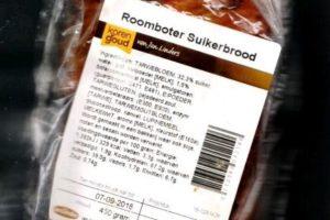 Recall: glas in suikerbrood Jan Linders
