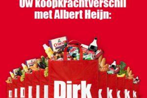 Dirk berekent koopkrachtverschil met AH