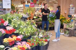 Een stralende bloemenafdeling zonder zorgen?