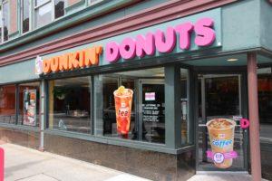 Dunkin' Donuts kort eigen naam in