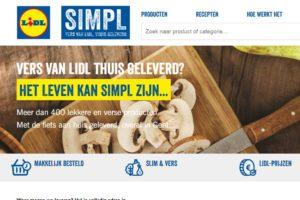 Lidl bezorgt vers met de fiets in België