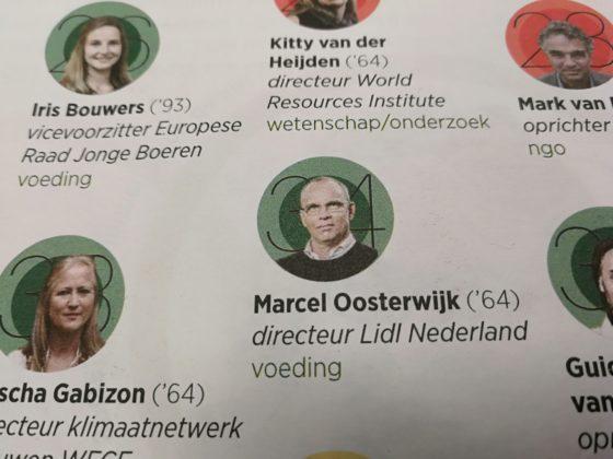 Lidl-baas Oosterwijk in Duurzame 100 Trouw