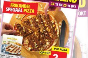 Lidl lanceert frikandellenpizza
