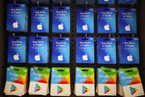 Dader belfraude met giftcards nog spoorloos