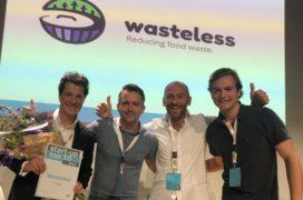 Wasteless wint Europese Startup Award