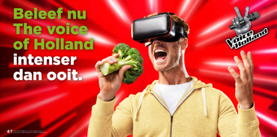 Plus start VR-campagne rond 'The voice'