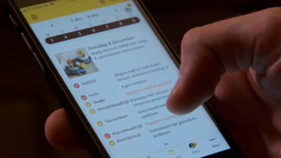 Jumbo-wielrenners gebruiken Foodcoach-app