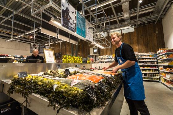 De Marqt-vestiging aan de Oostelijke Handelskade in Amsterdam. Foto: Diederik van der Laan