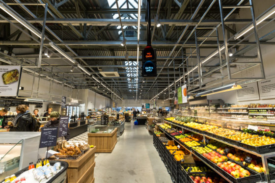 AMSTERDAM, 6 december 2018; Nieuw concept Marqt Oostelijke Handelskade. © SEBASTIAAN ROZENDAAL