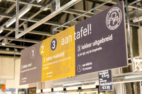AMSTERDAM, 6 december 2018; Nieuw concept Marqt Oostelijke Handelskade. 1-2-3 aan tafel concept. © SEBASTIAAN ROZENDAAL